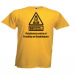 Camisetas de la Plataforma, consíguela en Lusón